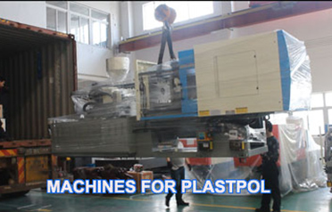 One Full 40HQ container with plastic injection machines and equipment bound for Plastpol