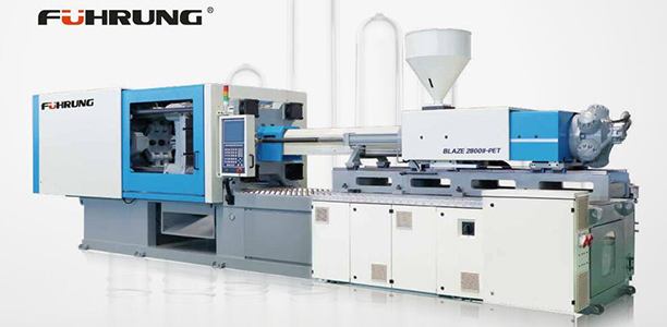 High output 280 ton pet injection molding machines