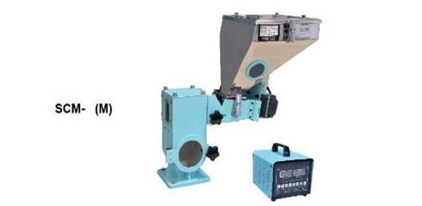 Color dose mixer for injection machines
